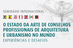 Seminário Internacional do CAU/BR