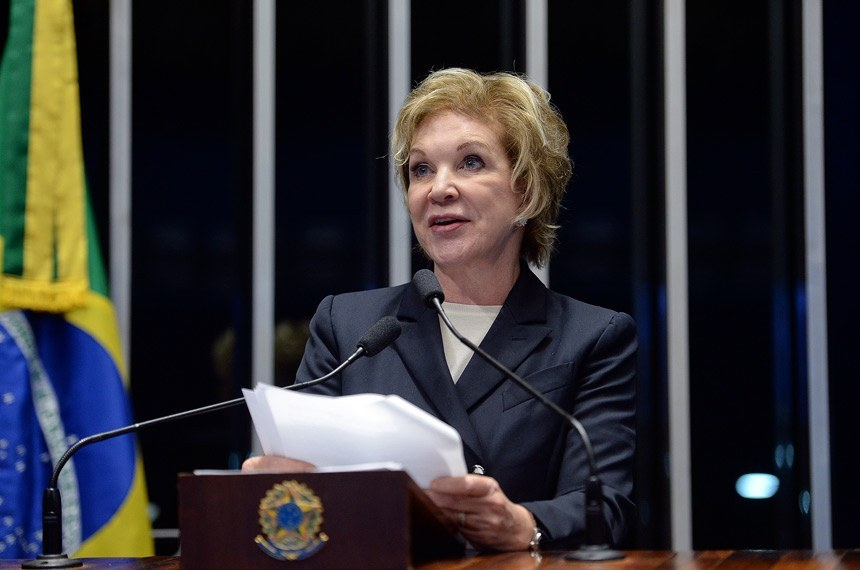Senadora Marta Suplicy, relatora do projeto (Foto Senado)