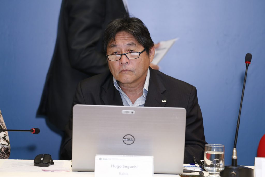 Conselheiro Hugo Seguchi (BA), coordenador da Comissão de Exercício Profissional