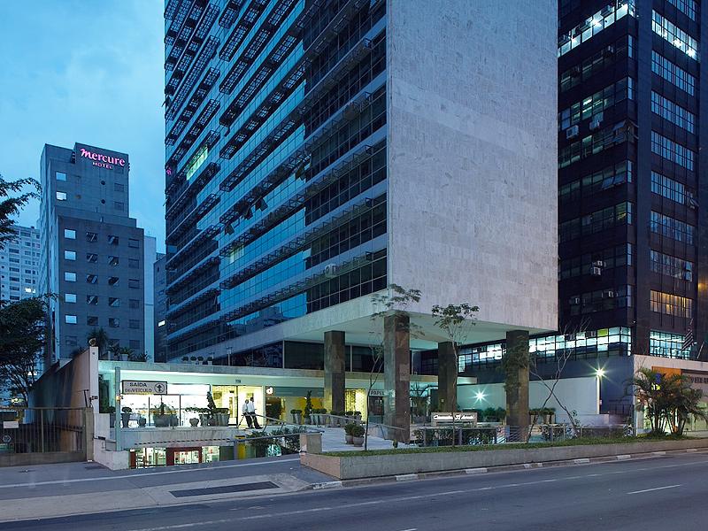 Palácio Quinta Avenida (São Paulo, 1958): Um dos mais expressivos edifícios da Avenida Paulista teve seu projeto escolhido por meio de concurso público, um dos muitos dos quais Pedro Paulo participou ao longo de sua carreira.