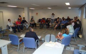 Reunião com a Secretaria das Cidades do Governo do estado do Amapá. Fonte: CAU/AP.