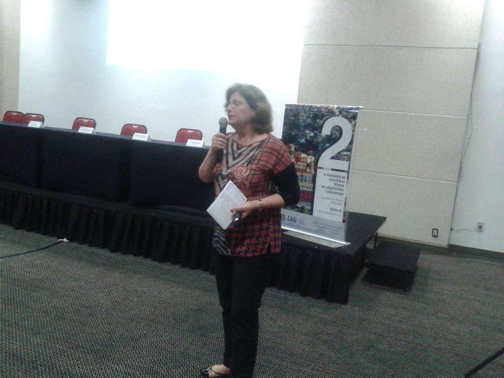 Professora Ângela Gordilho Souza, da Universidade Federal da Bahia (UFBA)