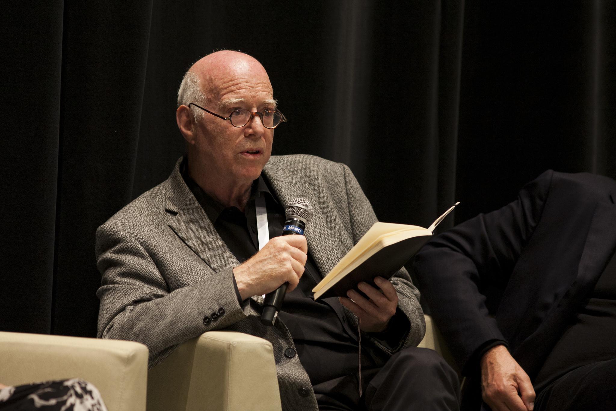 Richard Sennett, renomado sociólogo. Foto: Habitat III Conference