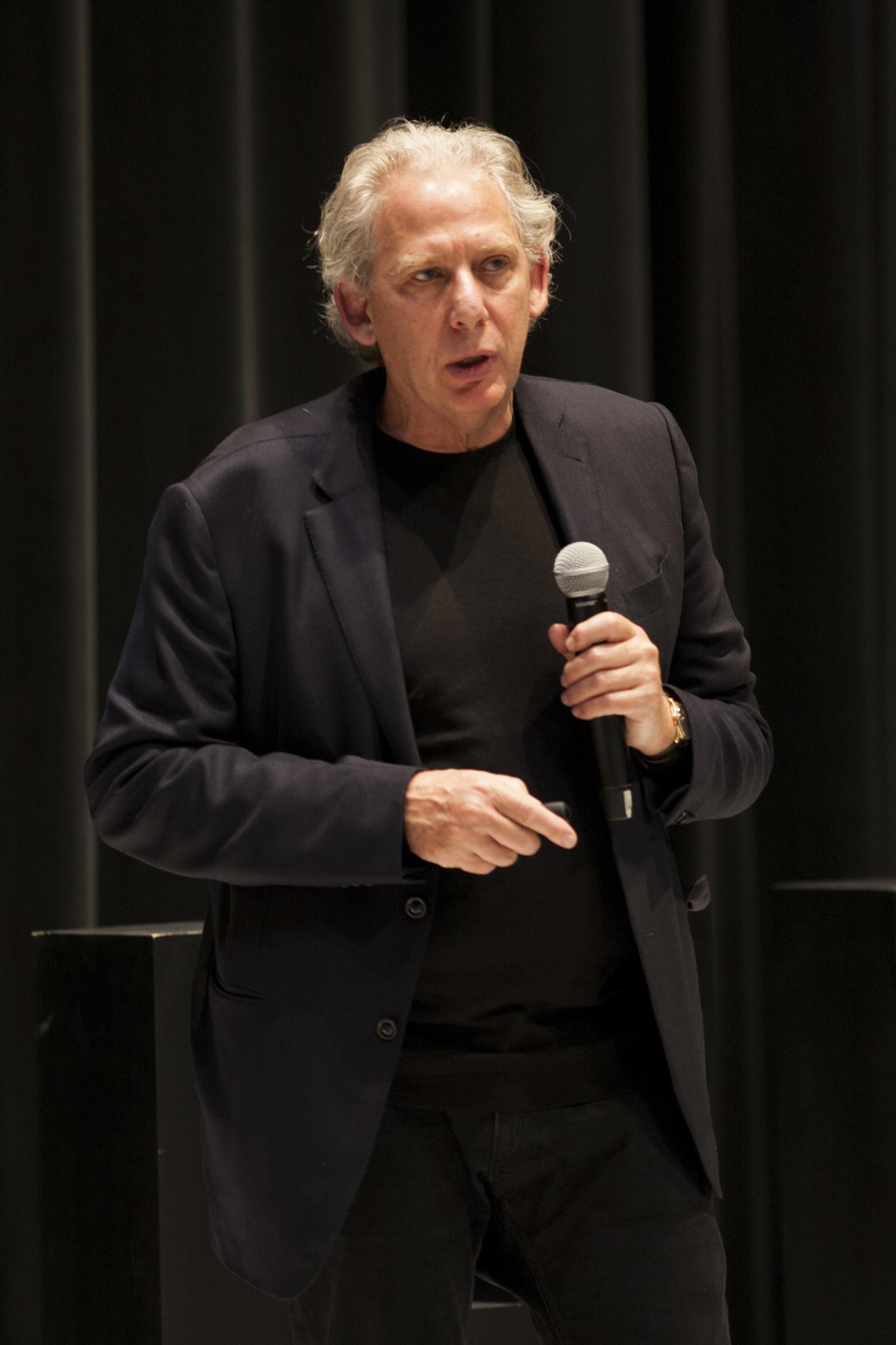 Ricky Burdett, urbanista. Foto: Habitat III Conference