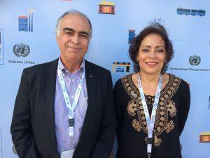 Haroldo Pinheiro e Lana Jube