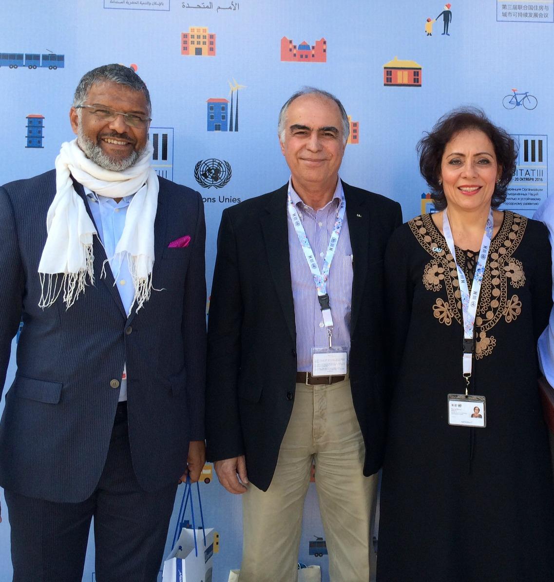 Cesar Freitas, Haroldo Pinheiro e Lana Jubé.
