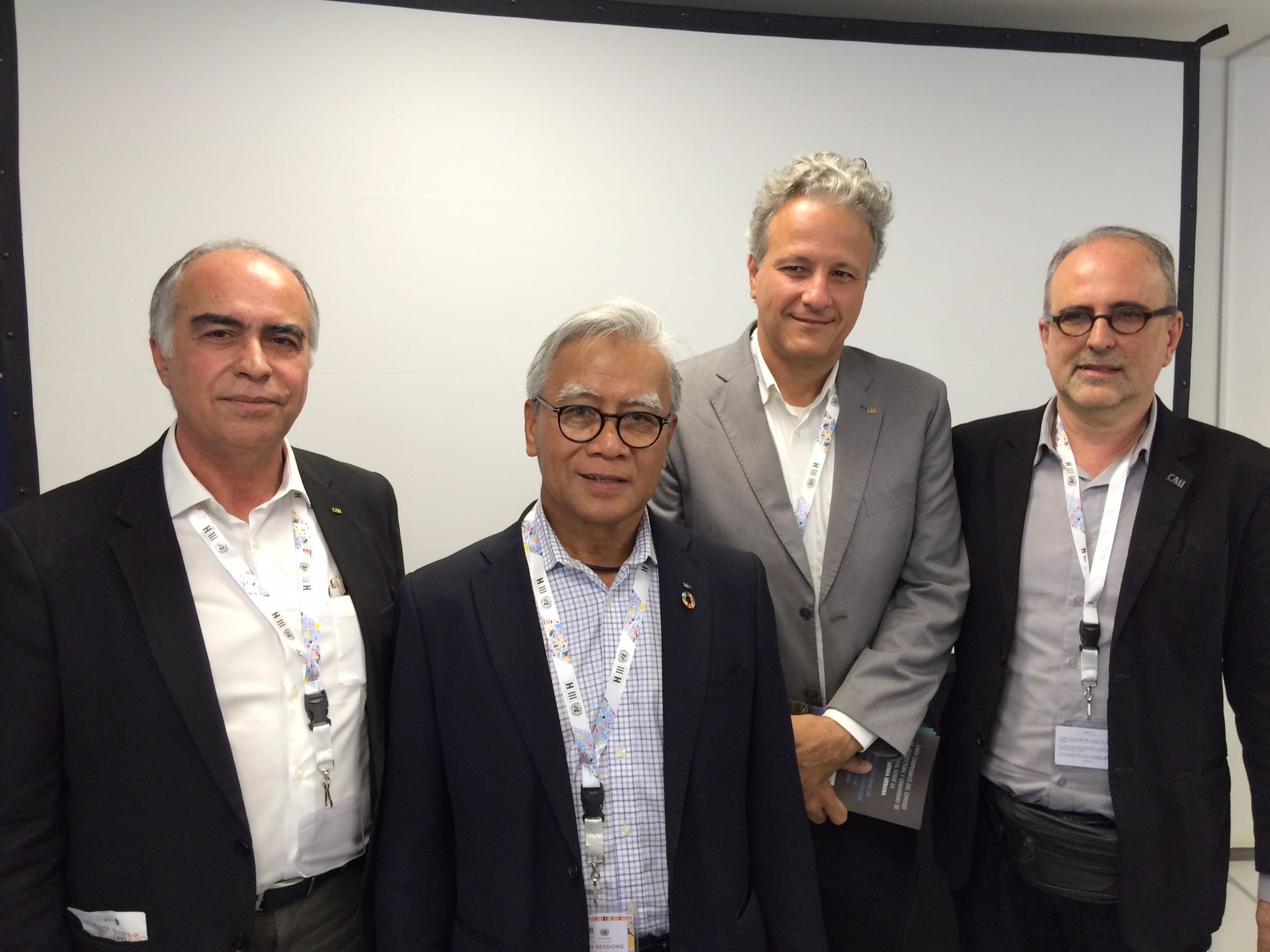 Haroldo Pinheiro, Isa, Fernando Diniz e Roberto Montezuma