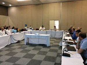 Conselheiros se reuniram em Foz do Iguaçu, nesta terça-feira (22).