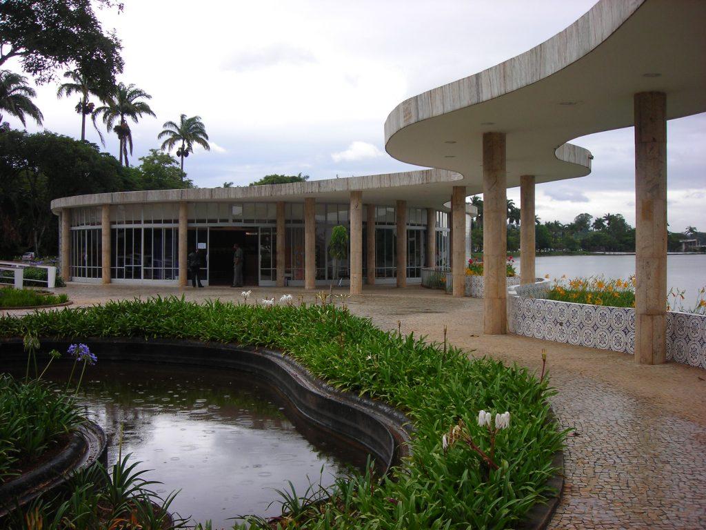 Casa do Baile, em Belo Horizonte. Projeto de Oscar Niemeyer. Foto de Clarice Muhlbauer/IPHAN