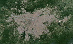 Mancha Urbana - (SP)