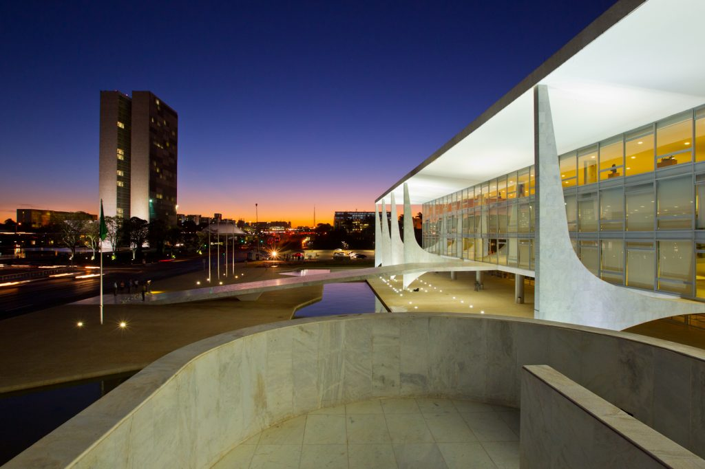 Congresso Nacional e Palácio do Planalto (Foto: Roberto Stuckert Filho/PR)