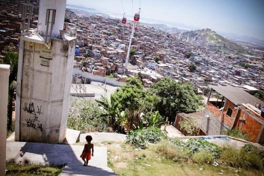 Favela da Maré, no Rio de Janeiro, (2013). Foto da Espocc Maré (Creative Commons).
