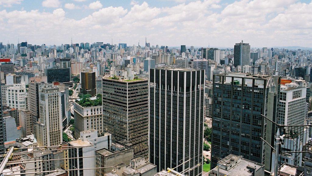 Vista aérea da cidade de São Paulo (Foto: EBC)