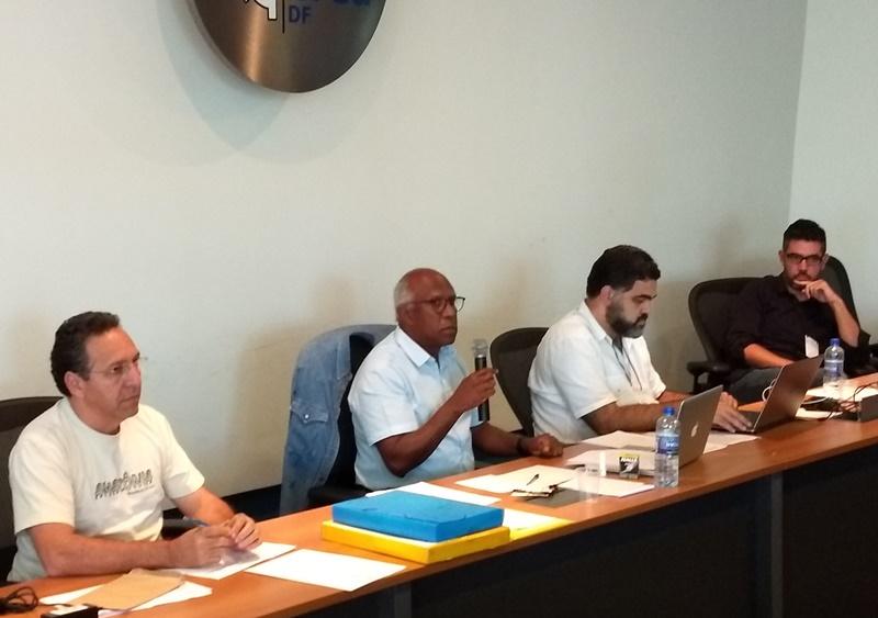 Odilo Almeida (esq.), eleito conselheiro do CIALP (Foto: IAB)