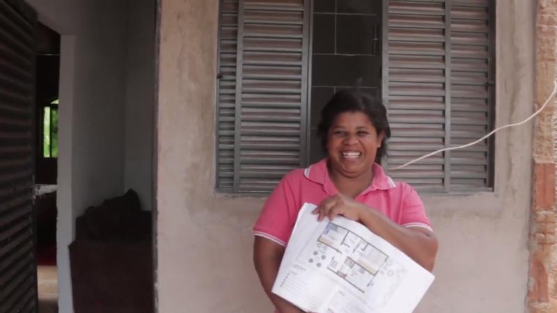 Luiza Rosa comemorou a execução do projeto elaborado pelo posto público de assistência técnica