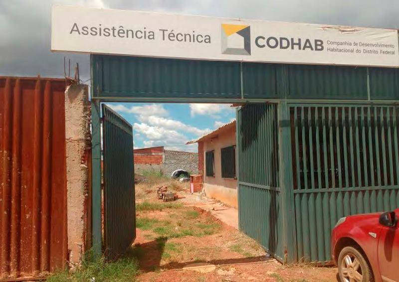 Posto de assistência técnica do Sol Nascente - Trecho 2, na região de Ceilândia