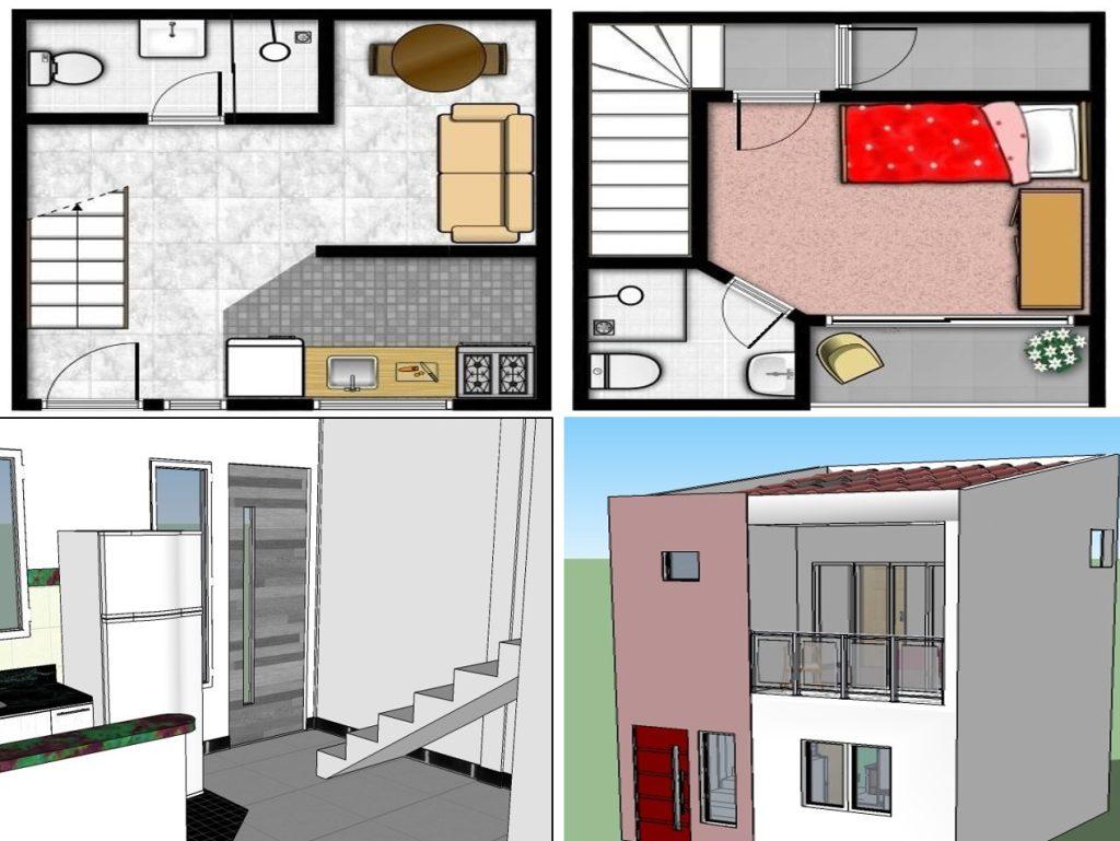 Projeto de reforma da residência da dona de casa Edmea Reis Araújo