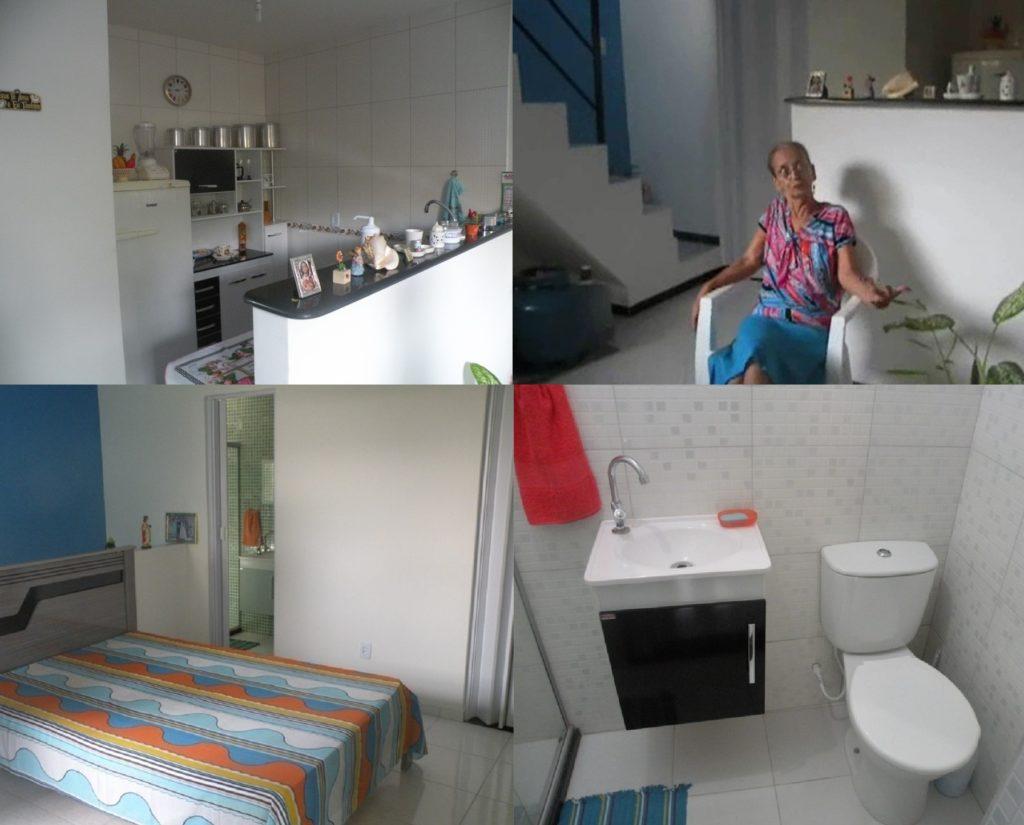Edmea Reis Araújo reformou sua casa inteira com projeto do Escritório Público