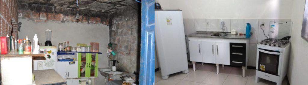 Antes e Depois: Casa preciso de reparos na instalação elétrica e na hidráulica