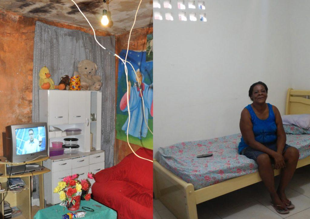 Antes e depois: Quarto não tinha ventilação nem luz natural