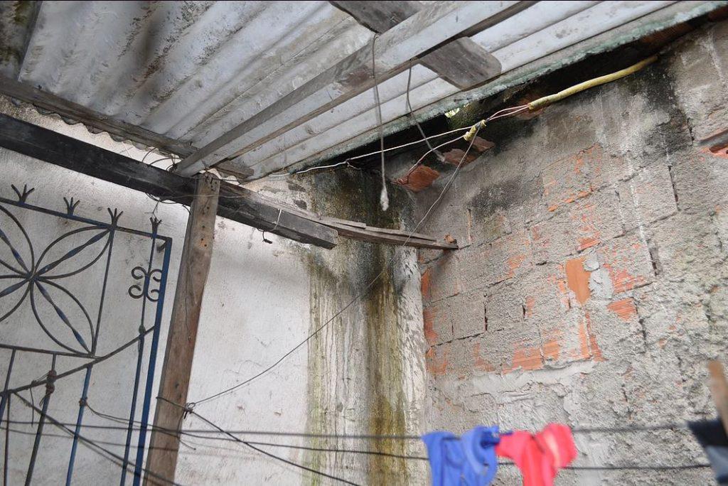 Próxima casa a ser reformada tem fragilidades estruturais