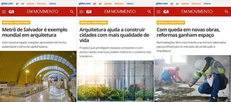 empresas promovem a Arquitetura
