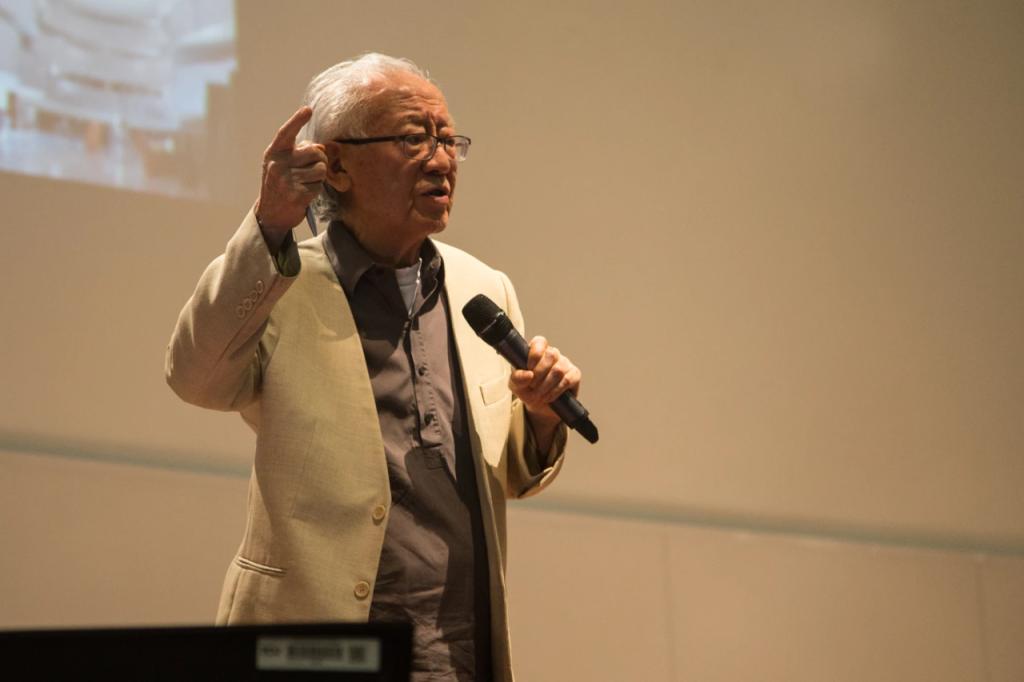Ruy Ohtake falou sobre experiência em Heliópolis durante palestra em Brasília